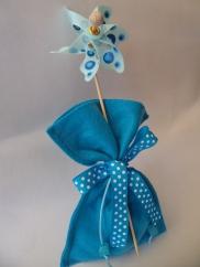 Pinwheel pouch