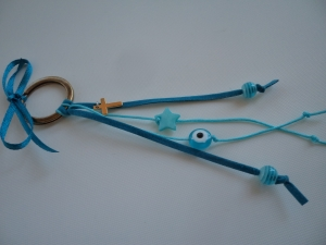 Key ring blue2