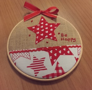 Star embroidery hoop